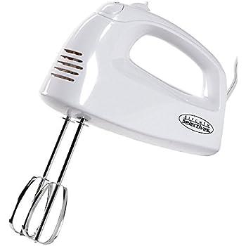 Kitchen Selectives HM-2007 Hand Mixer, White