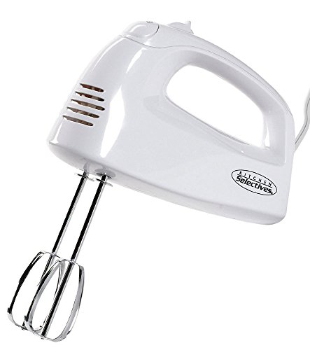 Kitchen Selectives HM-2007 Hand Mixer, White For Sale