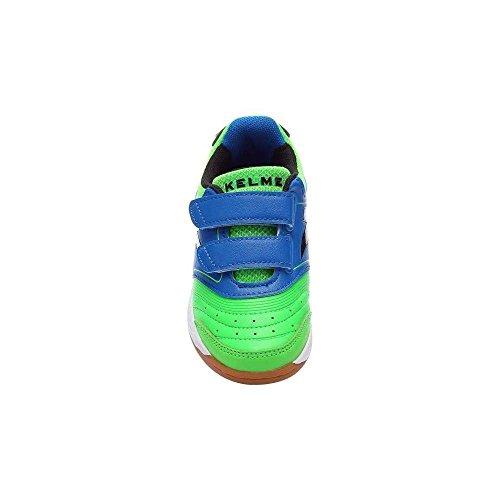 Kelme , Baskets pour garçon Vert/bleu