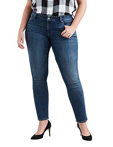 Levi's Women's Plus-Size 711 Skinny Jean, Astro Indigo, 38 (US 18) R by Levi's