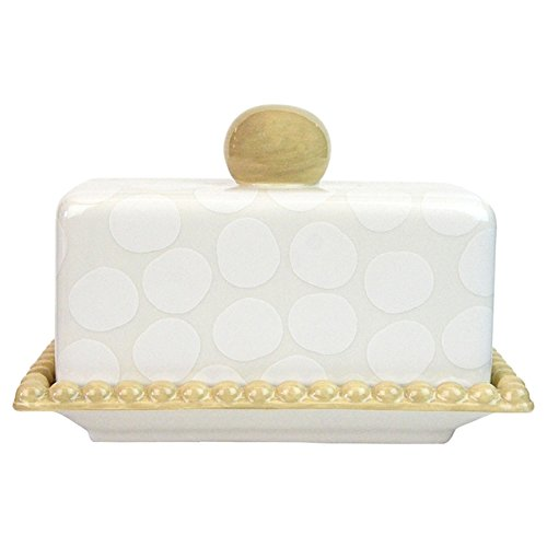 Pebble Covered Butter Dish