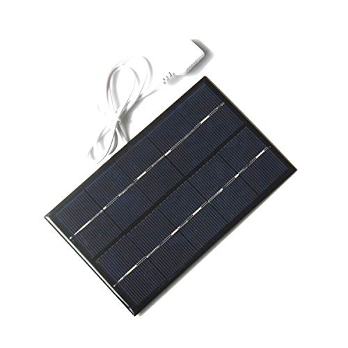 WIFORNT 2W 5V USB Mini Solar Panel Module Solar System Solar Epoxy Cells Charger DIY, Polycrystalline Silicon USB Charger