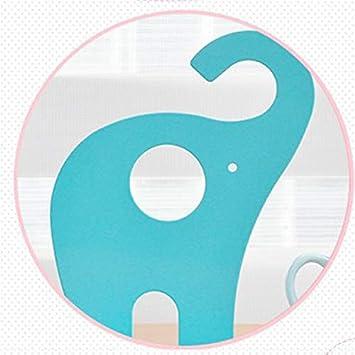 rosa Hacoly elefante metallo Fermalibri per ufficio design semplice Reggilibri Fermalibri per cameretta solida fermalibri ripiani Holder