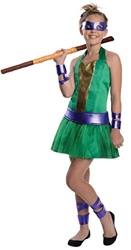 Rubies Teenage Mutant Ninja Turtles The Animated Series Donatello Costume, Tween Small