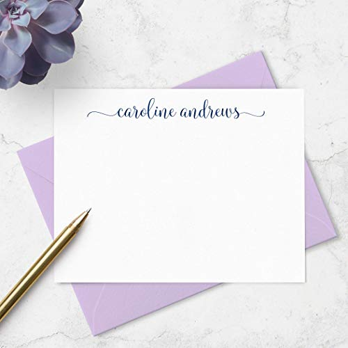 Buy personalized stationery cards with envelopes