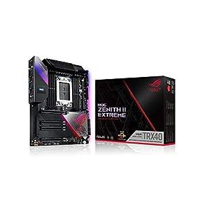 ASUS ROG Zenith II Extreme TRX40 Gaming AMD 3rd Gen Ryzen Threadripper sTRX4 EATX Motherboard with 16 Power Stages, PCIe…