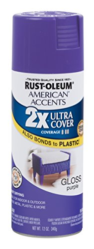 Rust-Oleum 285000 American Accents Ultra Cover 2X Gloss, Each, Purple ()