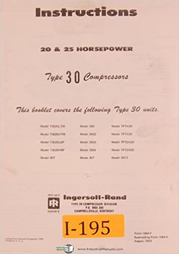 ingersoll rand model 253d5 manual