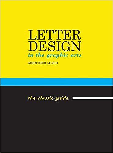 Descargar Libro En Letter Design In The Graphic Arts Buscador De Epub