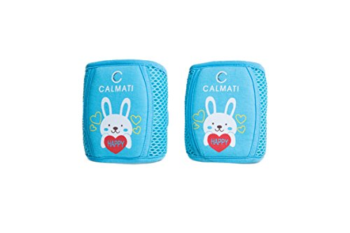 Baby Knee Pads for Crawling, Adjustable, Comfortable, Breathable, Padded, - keep your little one safe as they learn to crawl- indoor or outdoor use | By CALMATI