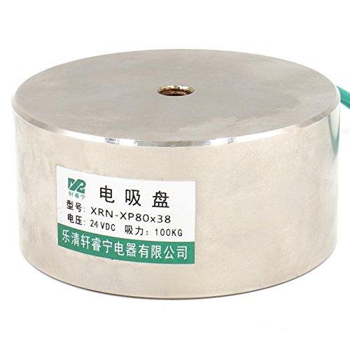 OD: 80/mm DC 24/V heschen electroim/án im/án solenoide P80//38 100/kg//220/lb