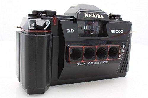 Camera Owners Manual - Nishika 35mm 3-D Camera N8000 + Strap, Owners manual & Batteries