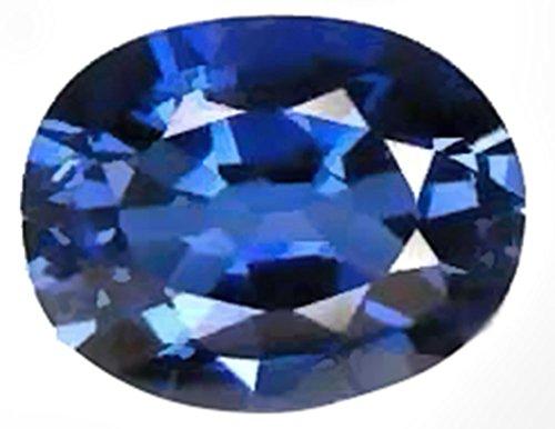 Created Blue Sapphire Oval Var