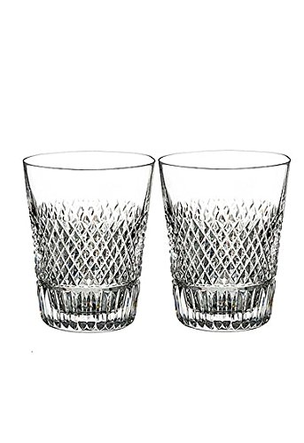 Waterford Diamond Line Shot Glass Set of 2