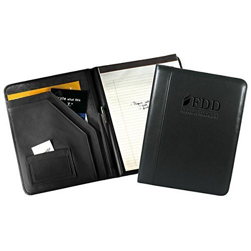 Florentine Napa Deluxe Writing Pad Holder Color: Black by Andrew Philips by Andrew Philips