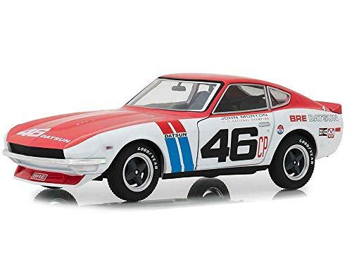 1970 Datsun 240z Brock Racing Enterprises #46 Tokyo Torque 1/24 Greenlight Branco E Vermelho