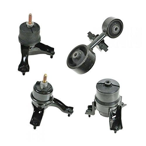 Motor Engine & Transmission Mount Set of 4 for Toyota Camry Solara 4 Cyl - 4 Engine Motor Cyl