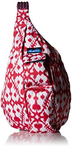 kavu Rope Backpack, Pink Blot, One Size ()