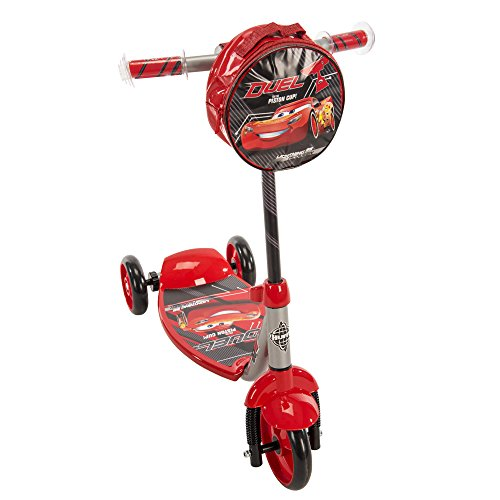 Disney Cars Scooter - Huffy Disney Pixar Cars 3 Boys 3-Wheel Preschool Scooter