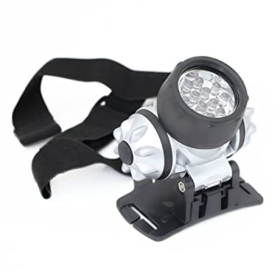 Generic 12 LED Headlight Torch Headlamp Light With Adjustable Strap