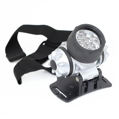 Generic 12 LED Headlight Torch Headlamp Light With Adjustable Strap