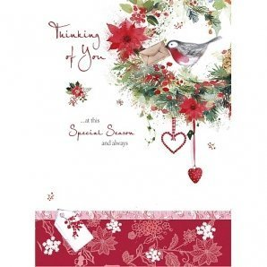 Thinking Of You At Christmas Card By Carte Blanche: Amazon.co.uk ...
