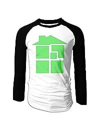 Men Homestuck Logo Long Sleeve T-Shirt Black