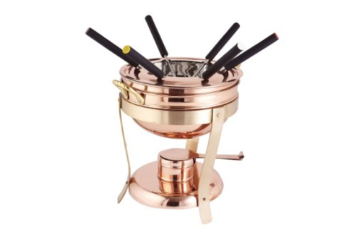 Décor Copper & Brass Fondue Set, 2.75 qt. by Old Dutch
