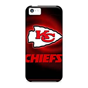Cute Appearance Cover/tpu MUFki14540xwIEY Kansas City Chiefs Case For Iphone 5c