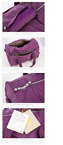 Waterproof Unisex Nylon Shoulder Bag Adanina 8qvU1n1