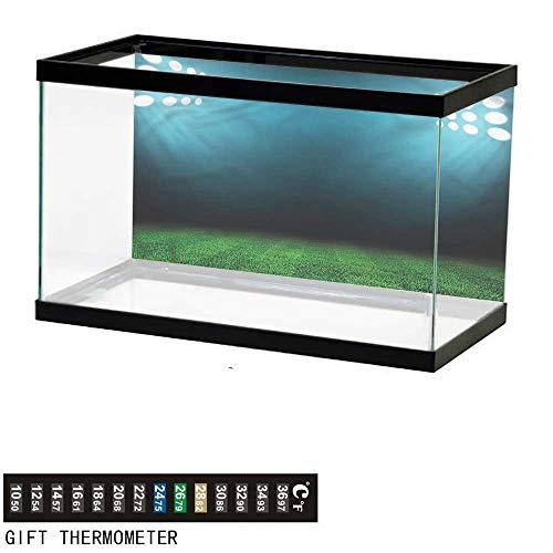 Spider Man Stadium Cup - bybyhome Fish Tank Backdrop Digital,Night at Stadium,Aquarium Background,24