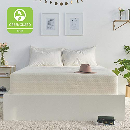 Brentwood Home Cypress Mattress, Greenguard Gold & CertiPUR Certified Non Toxic, Soft...