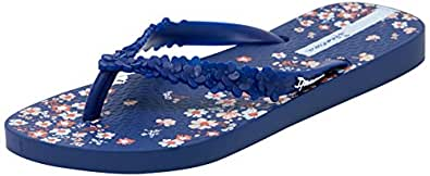 IPANEMA Women's FLORAL FASHION, BLUE , 4.5