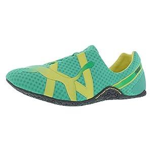 PUMA Women's Anaida Lace Dip Dye Training Shoe,Electric Green/Sunny Lime,8.5 B US