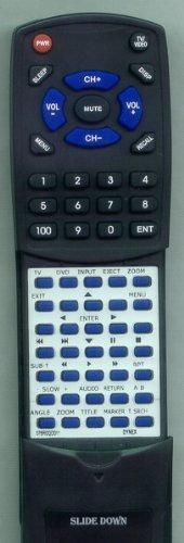 DYNEX Replacement Remote Control for DXLTDVD2209, 076R0QD011, DXLTDVD22