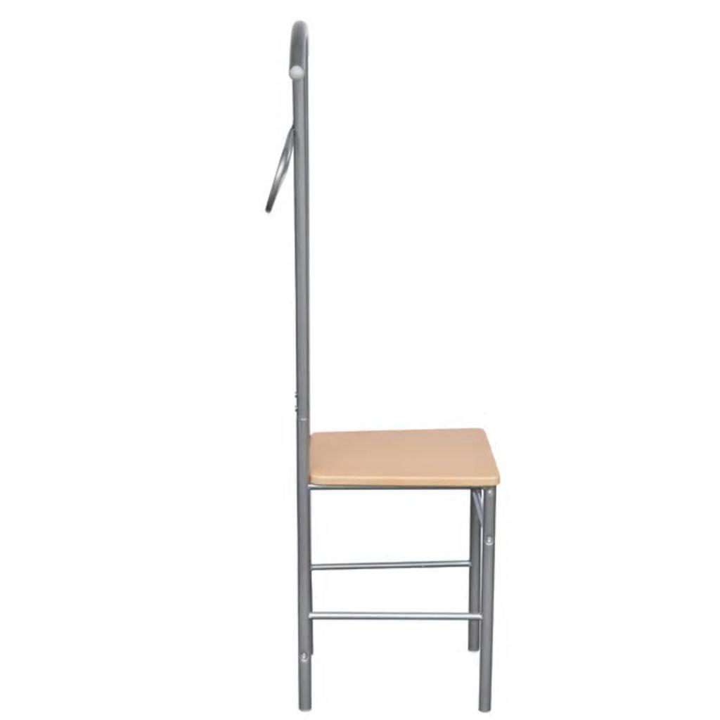 vidaXL 2 x Perchero valet de ropa en forma de árbol con asiento