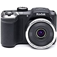 Kodak PIXPRO Astro Zoom AZ251 16 MP Digital Camera with 25X Optical Zoom and 3 LCD Screen (Black)