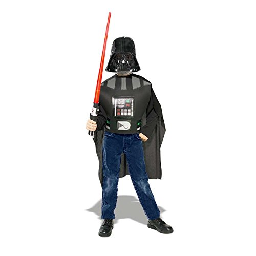 Star Wars Darth Vader Action Suit Child, Size 4 to 10 -