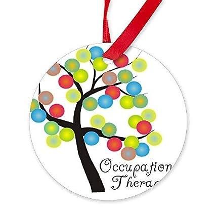Image Unavailable - Amazon.com: OSWALDO Occupational Therapist Tree Bubbles - Round