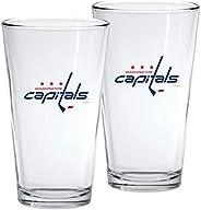 Washington Capitals 16oz NHL Mixing Glass Box Set (2-Pack)