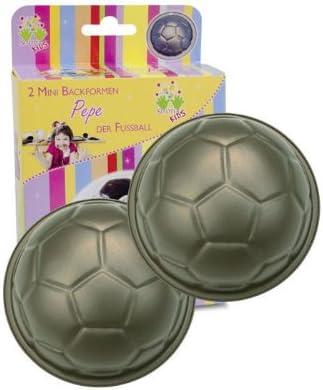Städter - Juego de 2 moldes para Horno, diseño de balón de fútbol ...