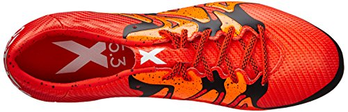 15 adidas Performance 3 Shoe Soccer Cleat X Bold Orange Orange Men's Solar White twwHdqr1