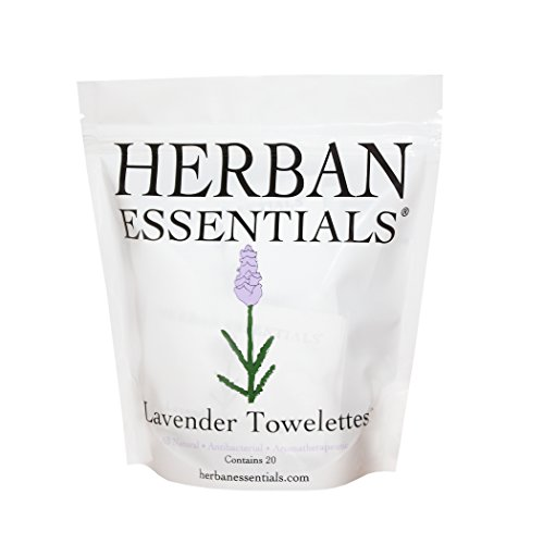 Disinfectant Towelettes (Herban Essentials Lavender Towelettes)