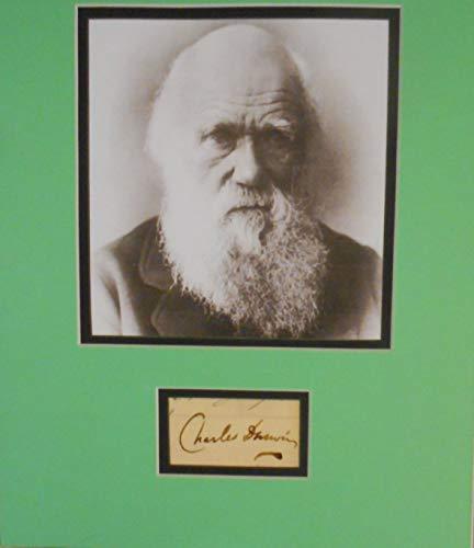 Charles Darwin autograph
