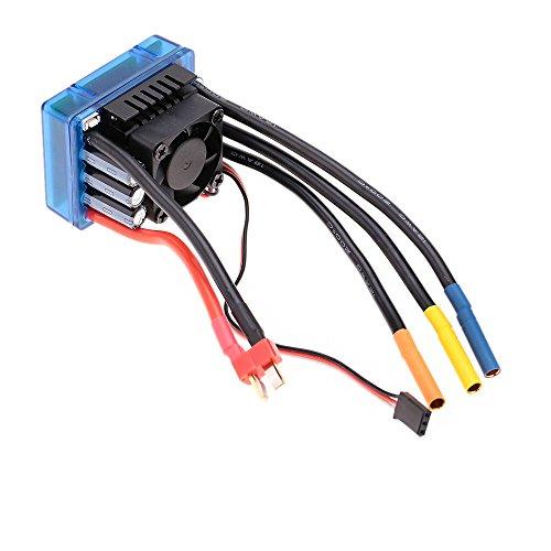 Goolrc 3674 2250kv 4p sensorless brushless motor with 120a for Sensorless brushless motor controller