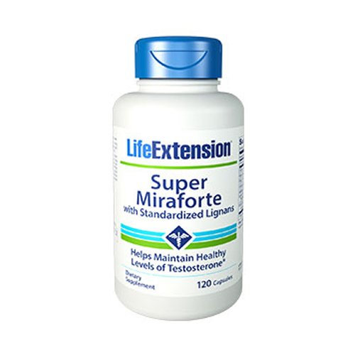 Super Miraforte with Standardized Lignans 120c (2 Packs) Life Extension