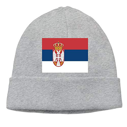 CHAN03 Serbia Flag Beanies Hats Unisex Winter Sports Caps
