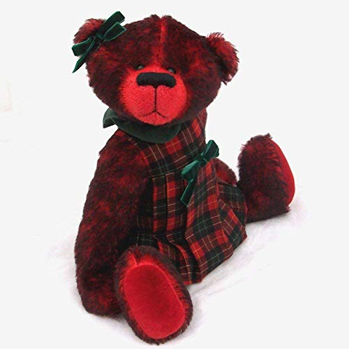 Joy - Teddy Bear OOAK Red Tipped Steiff Schulte Mohair Artist Collectible 15 inches ()
