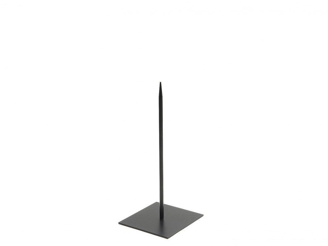 Dekost/änder NaDeco Metallst/änder 18x18cm Pin 40cm Objektst/änder Metallst/änder mit Fu/ß Metallst/änder f/ür Skulpturen