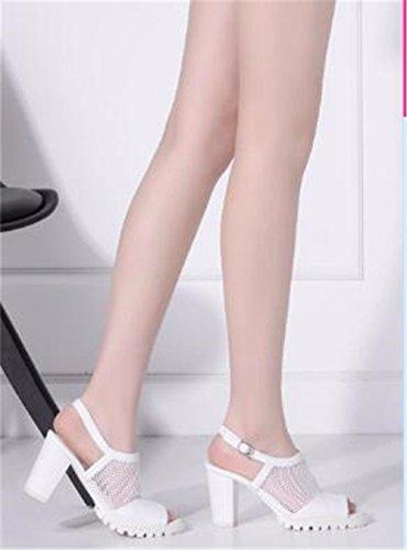 Fondo Code Piatto Pantofole D'Estate BTBTAV Europeo The Scivolo European Nero White Lady 36 A 34 Con All'Aperto Codice ZwBYxqS